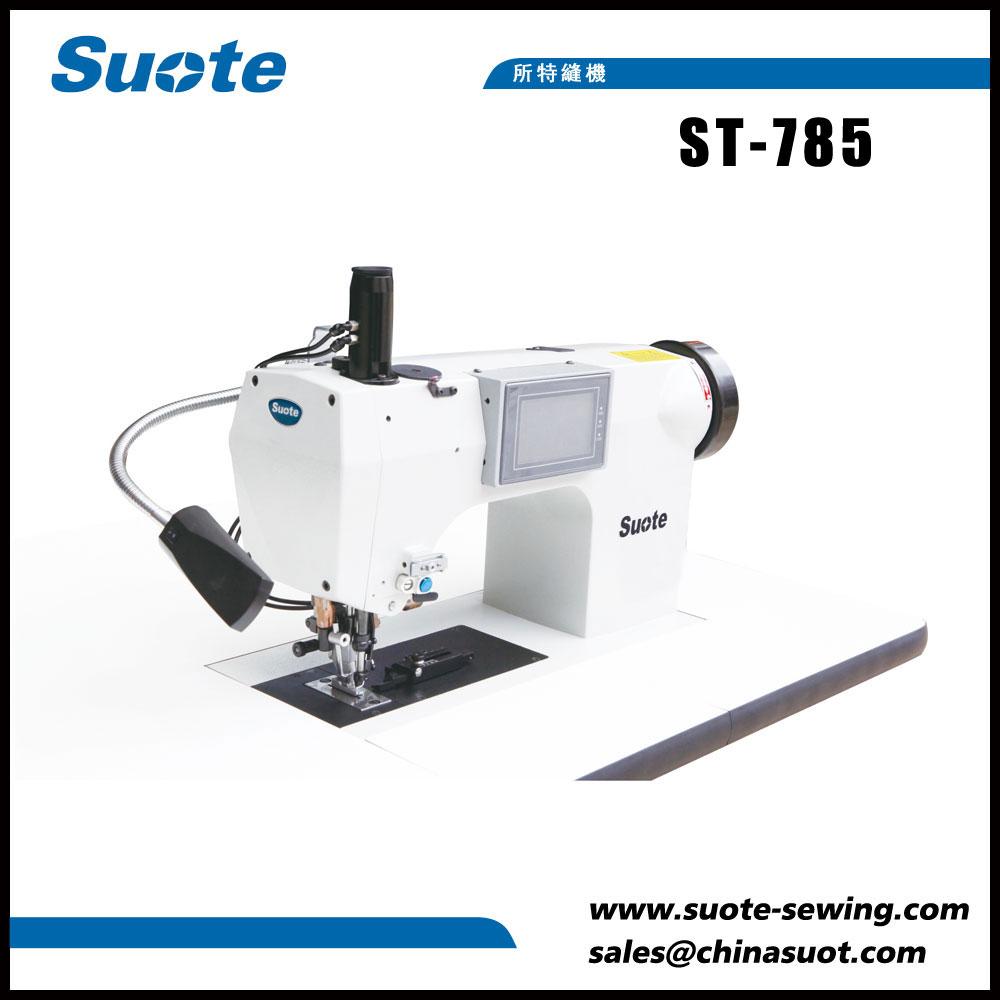 Máquina de costura computerizada de punto de man