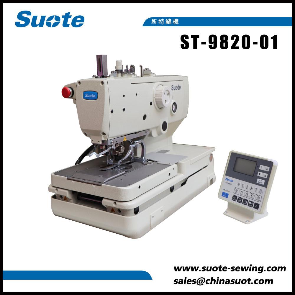 Máquina de costura Holder de botóns de botón electrónico