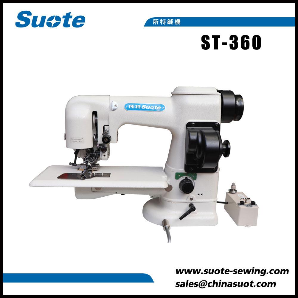 Máquina de costura dobre cara lateral