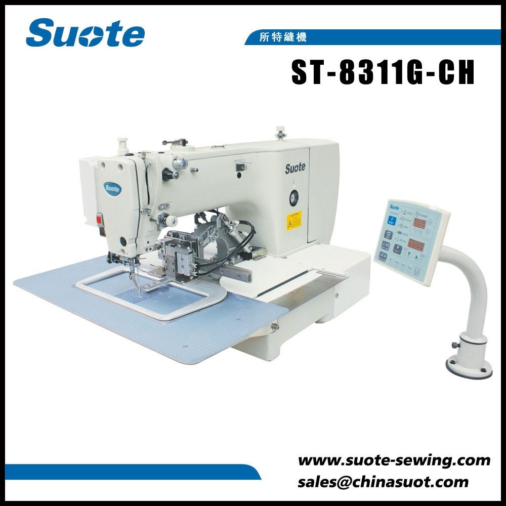 Máquina de costura de etiquetas electrónicas
