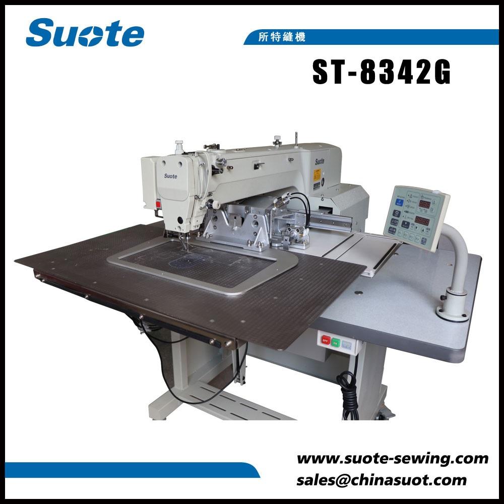 Máquina de costura de patrón electrónico