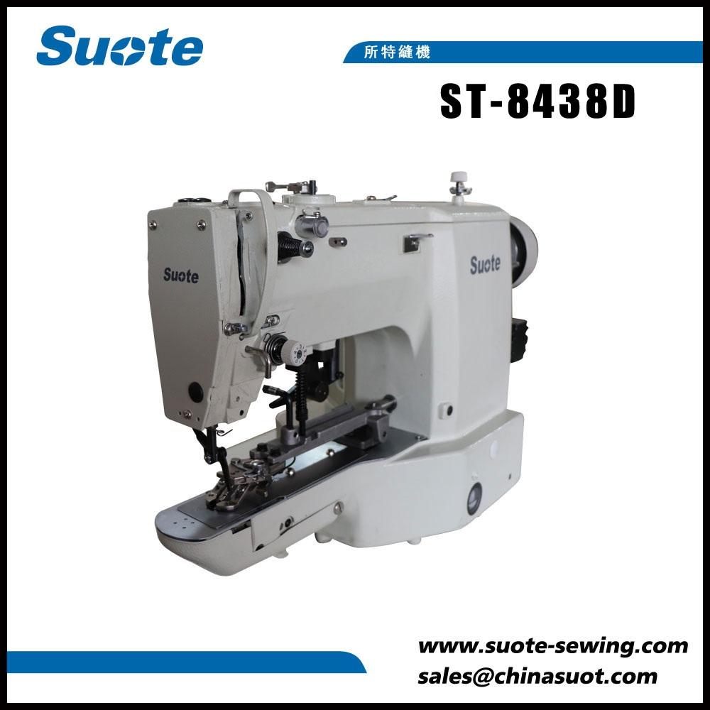 Máquina de costura electrónica de puntada de botón